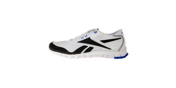 Pánské bílé běžecké boty Reebok s technologií RealFlex