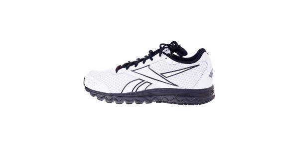 Pánské bílé běžecké boty Reebok s černými detaily
