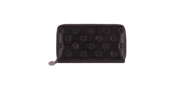 Dámská černá peněženka s raženými motivy Wittchen