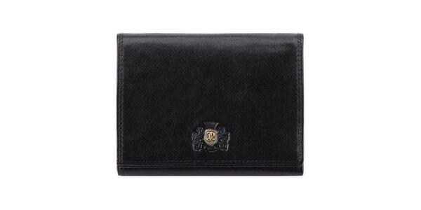 Dámská černá kožená peněženka Wittchen