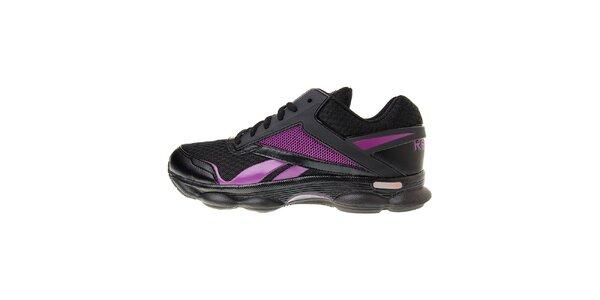 Dámské černé běžecké boty Reebok s technologií RunTone