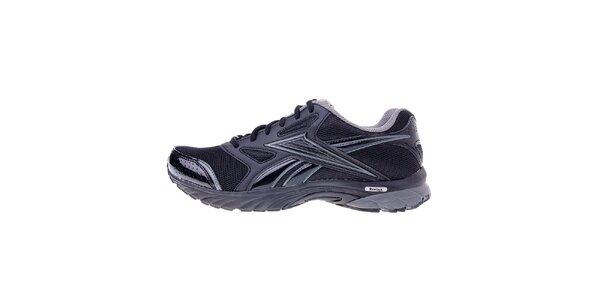 Pánské černé běžecké boty Reebok