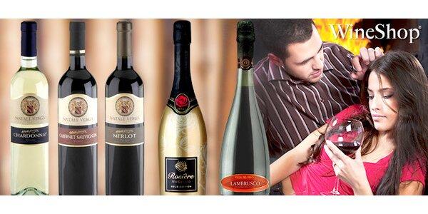 Valentýnské balíčky 6 vín z Itálie a Francie