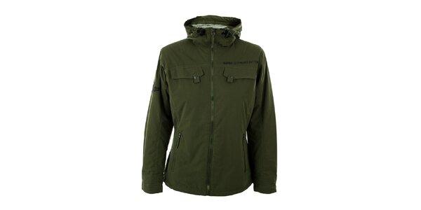 Dámská olivově zelená zimní bunda Hannah