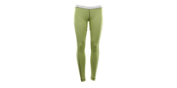 Dámské funkční kalhoty limetkové barvy Hannah