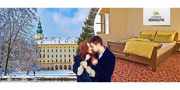 Valentýnský pobyt v Kroměříži, v Hotelu U Zlatého kohouta