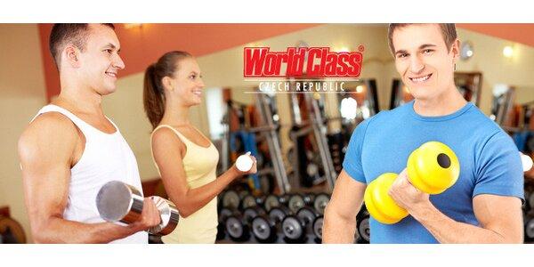 2měsíční permanentka do klubu World Class Fitness