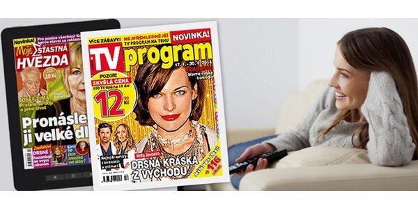 Předplatné: TV Program + Moje šťastná hvězda