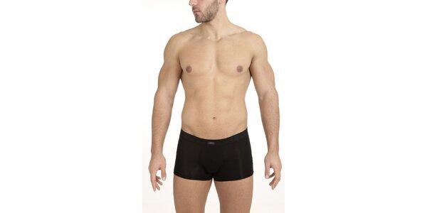 Pánské černé boxerky QBO