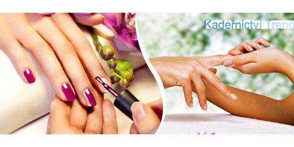 Manikúra s lakem, P-Shine nebo gelové nehty