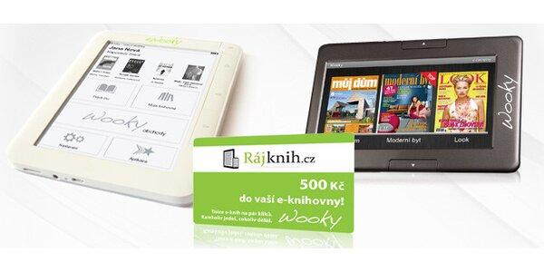WOOKY tablet a eWooky čtečka včetně dopravy