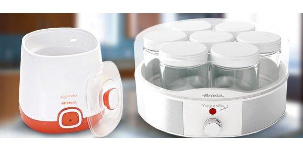 Italské jogurtovače Ariete pro výrobu domácího jogurtu