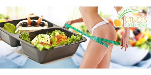 5denní Fitness Food menu až domů včetně dopravy