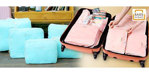 Organizéry do kufrů – pořádek na cestách