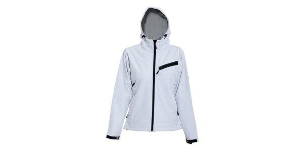 Dámská softshell bunda značky Humdrum v bílé barvě