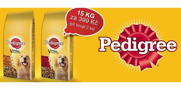 15 kg pytle granulí Pedigree Adult