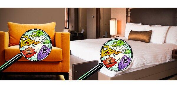 Hloubková dezinfekce matrací a dalšího vybavení domácnosti