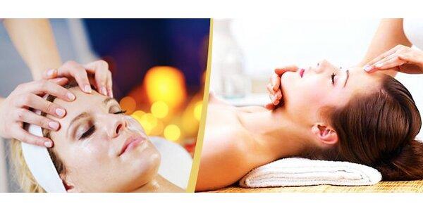 Liftingová masáž obličeje 60 minut
