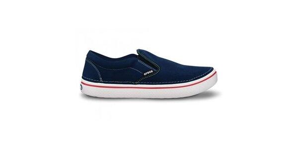 Pánské tmavě modré nazouvací tenisky Crocs