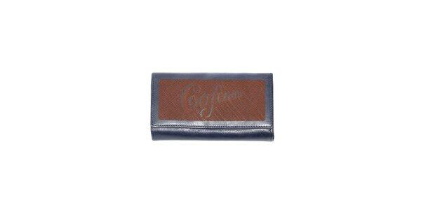 Dámská peněženka značky Café Noir v modré barvě