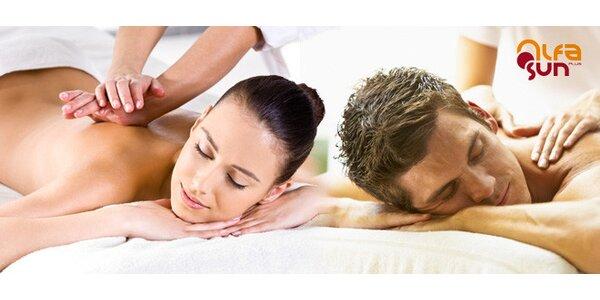 Smyslná tantrická masáž pro jednotlivce i páry
