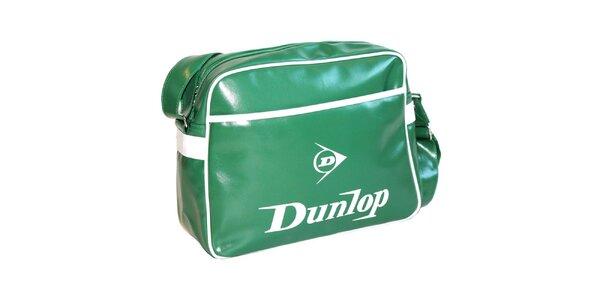 Zelená taška přes rameno Dunlop