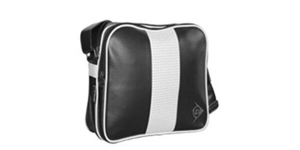 Originální černá sportovní taška Dunlop