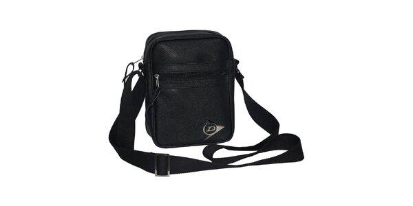 Sportovní černá taška přes rameno Dunlop