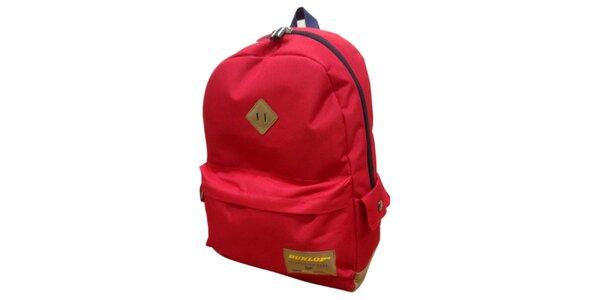 Červený batoh Dunlop