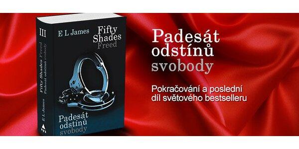 Erotický bestseller 50 odstínů svobody
