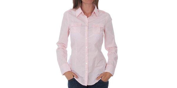 Dámská světle růžová košile Tommy Hilfiger