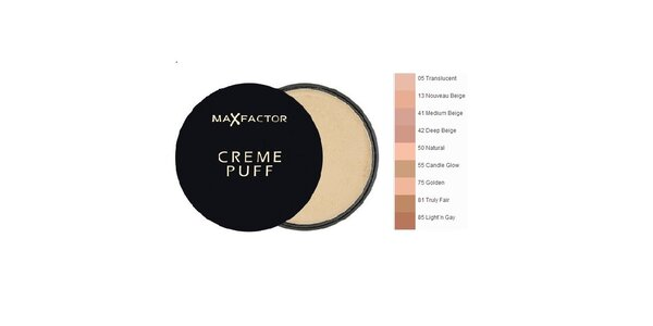 MF Creme Puff Refill 41 Medium Beige, pudr