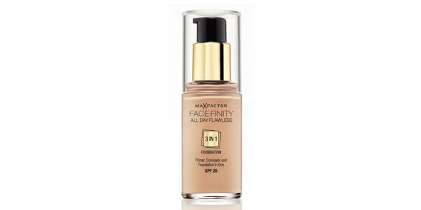 MF Facefinity 3 in 1 Foundation 45 Warm Almond,make-up