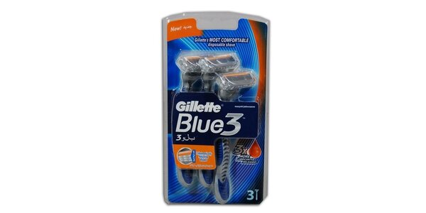 Blue III - 3ks pánská holítka