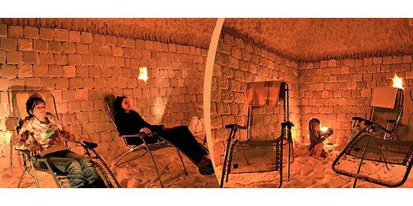 45minutová relaxace v Solné jeskyni v Turnově