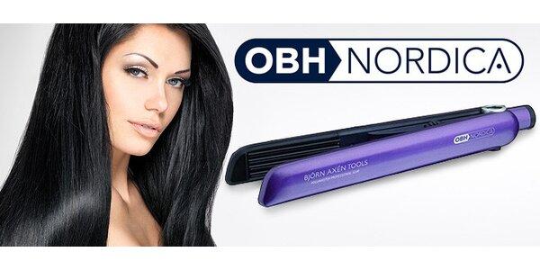 Profi žehlička na vlasy OBH Nordica