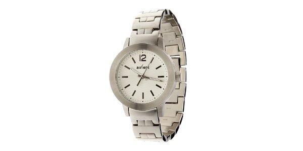 Dámské stříbrné ocelové hodinky Axcent