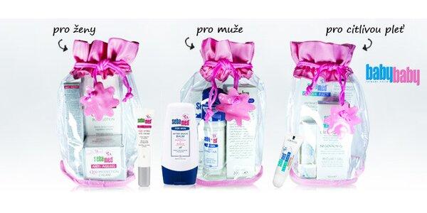 Dárkový balíček s kosmetikou pro ženy i muže Sebamed