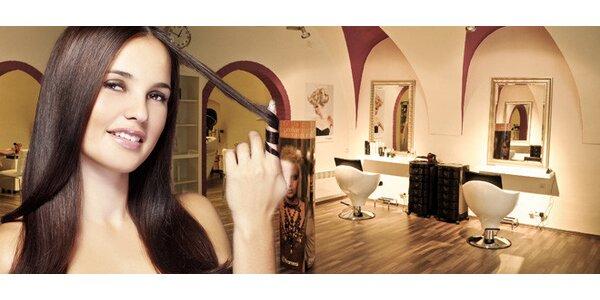 Nový střih i barva či melír v kadeřnickém salonu De Parfaite