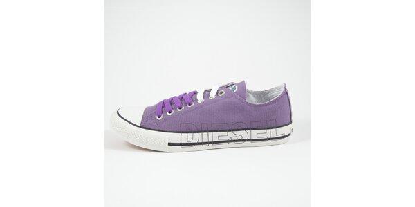 Dámské fialové tenisky Diesel