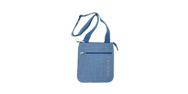 Textilní taška přes rameno značky Café Noir v modré barvě