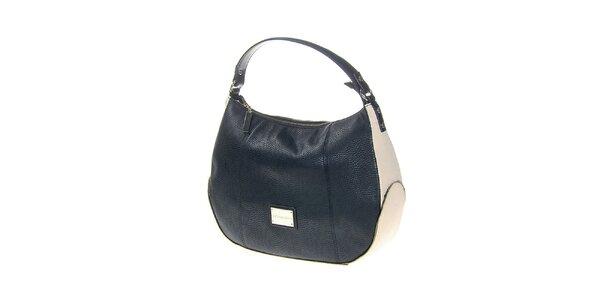 Dámská černo-smetanová kabelka Versace Jeans