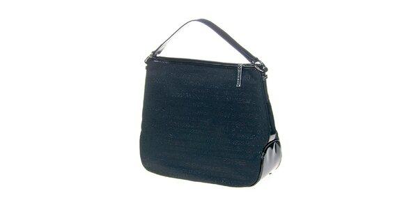 Dámská modrá kabelka s potiskem Versace Jeans