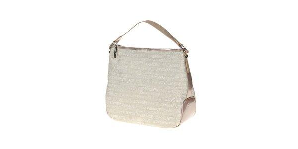Dámská bílá kabelka s potiskem Versace Jeans