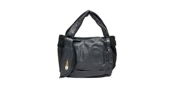Originální kožená černá kabelka značky Café Noir