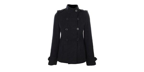 Dámský tmavě modrý vojenský kabátek Gémo