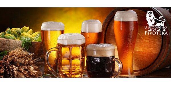 Jakákoliv piva v hodnotě 200 Kč