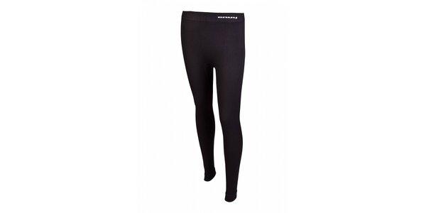 Dámské černé bezešvé podvlékací kalhoty Envy