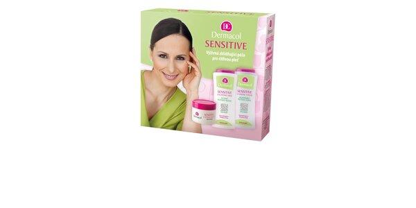 Dárkový balíček Sensitive Výživná zklidňující péče pro citlivou pleť (50ml…