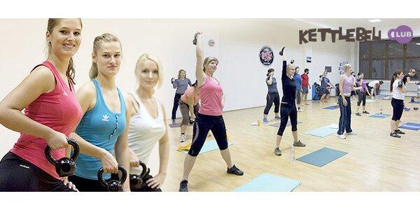 Zábavné moderní cvičení s kettlebelly